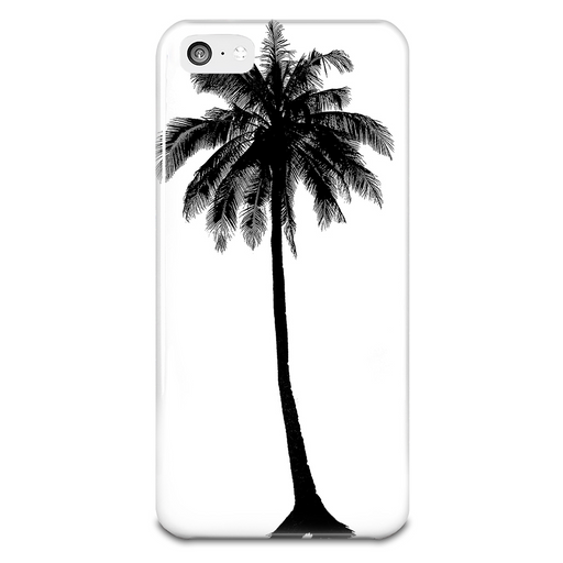 Hipster Palm Tree Plastic Iphone 5 Case