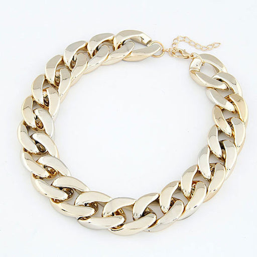 Women's Linked Chain Necklace