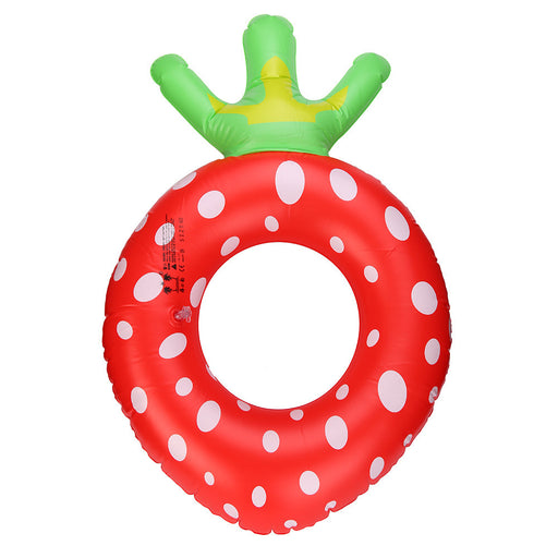 New Arrival!! Inflatable Strawberry Pool Float