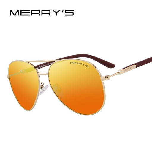 MERRY'S DESIGN Classic Pilot Polarized Sunglasses