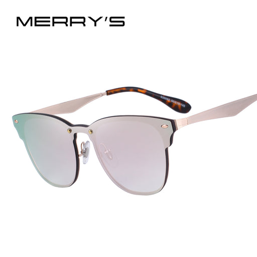 Women's Retro Rivet Sunglasses 100% UV Protection