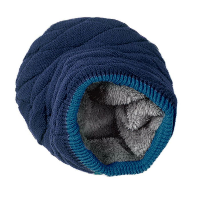 Men's Soft Lined Knit Beanie