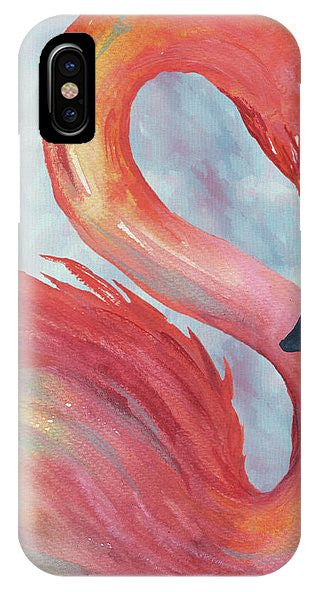 Tropical Flamingo IPhone Case (Iphone & Galaxy) Varies Sizes