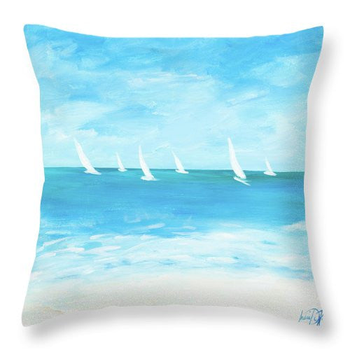 Windjammer Throw Pillow