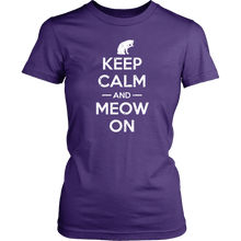 Keep Calm & Meow On