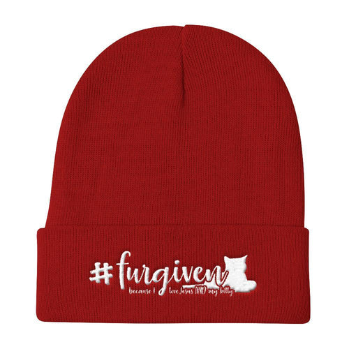 #Furgiven Knit Beanie