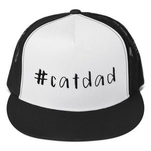 #Catdad Trucker Hat