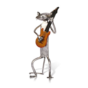 Guitar Cat Decoration
