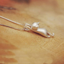 Hanging Cat Necklace