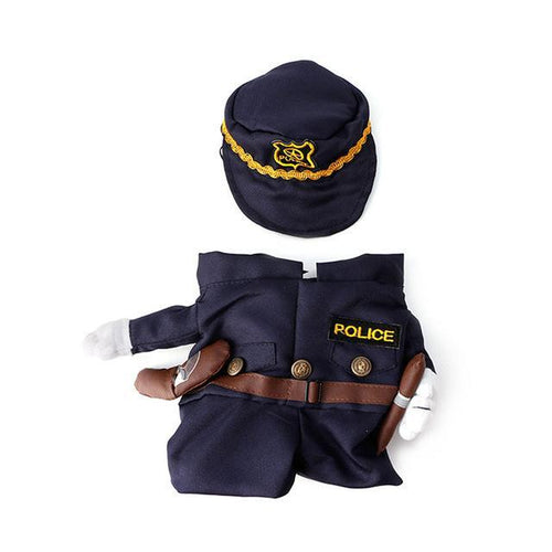 Kitty Police Officer Outfit