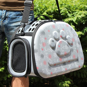 Paw Print Cat Carrier