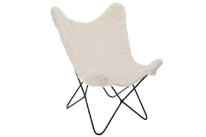 COVER CHAIR FX FUR CREAM