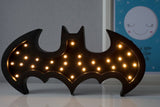 Batman sort lampe