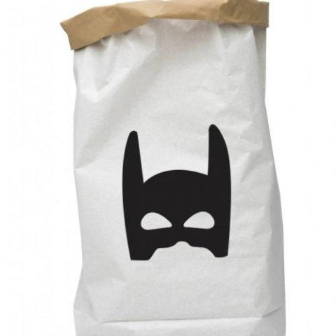 Paper Bag Superhero