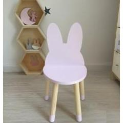 Bunny stol pink