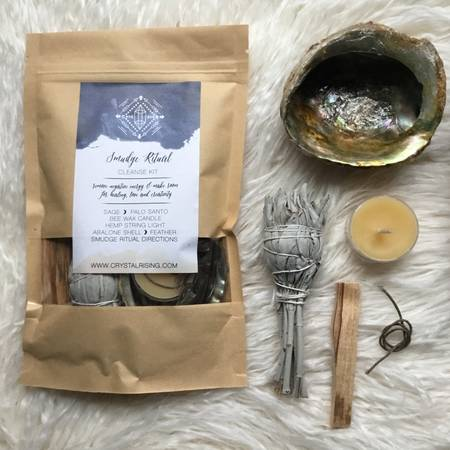Smudge Ritual Cleanse Kit