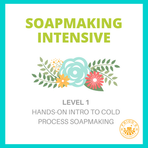 Soapmaking Intensive: Level 1