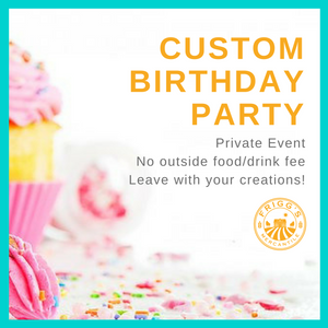 Custom Birthday Party Package (Kids)