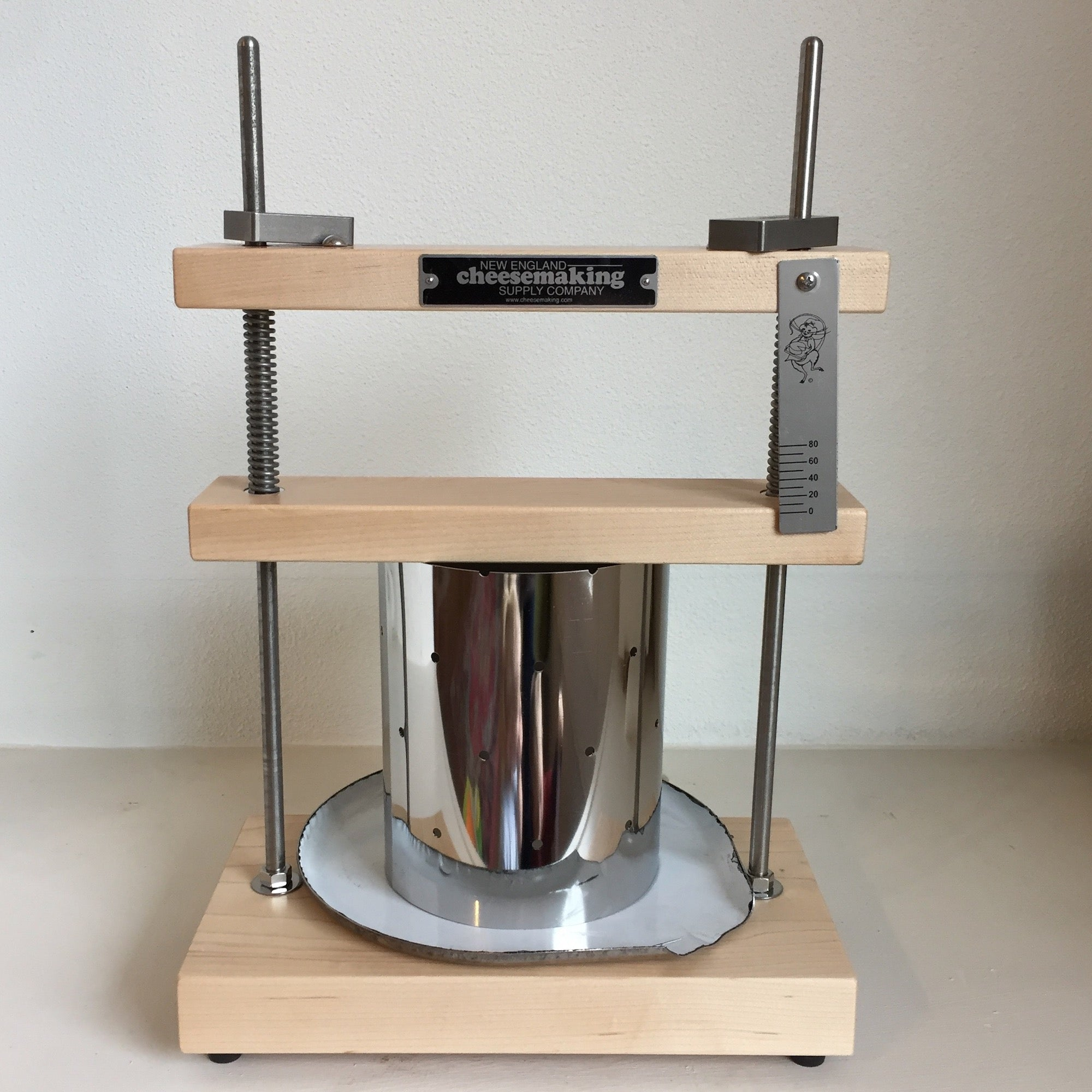 Deluxe Cheese Press (with three included cultures)