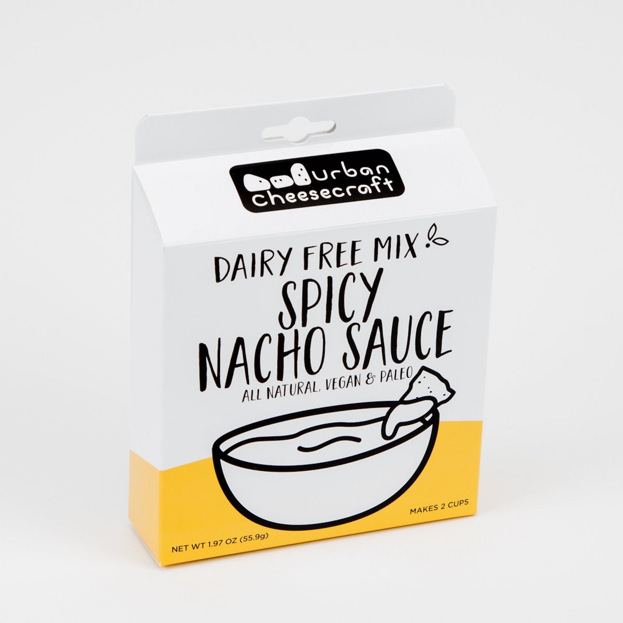 Dairy Free, Vegan, Paleo Cheese Sauce Mix - Spicy Nacho