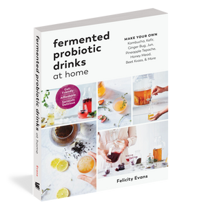 Fermented Probiotic Drinks at Home