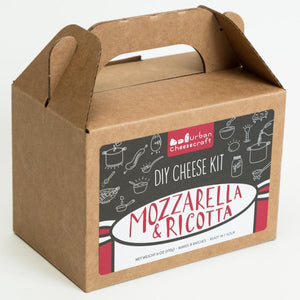 Mozzarella And Ricotta - DIY Cheese Kit