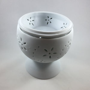 Spiral Flowers Tealight Warmer