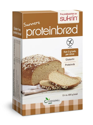 3 x Sukrin Low-Carb High-Protein Oat Bread Mix