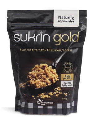 Sukrin Gold the Natural low-cal alternative sweetener to brown sugar