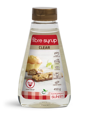 3 x Sukrin Fibre Syrup Clear Natural Sweetener Lower Calorie & Low-Carb