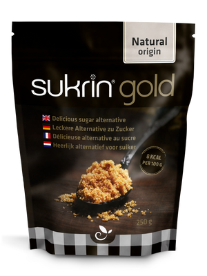 3 x Sukrin Gold Brown Sweetener Low-Cal natural sugar alternative