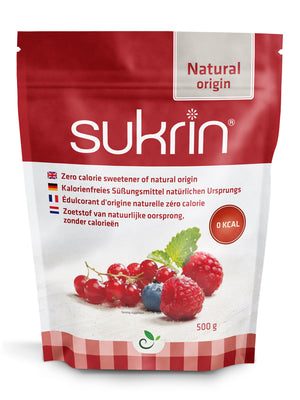 3 x Sukrin Granulated Natural Sweetener Original Calorie Free