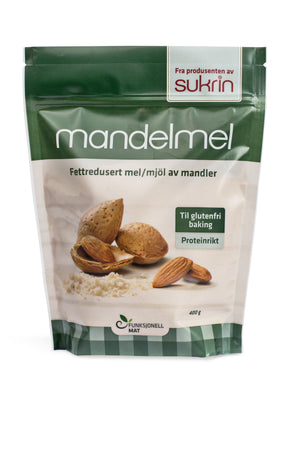 Sukrin Fat Reduced Cold Pressed Almond Flour