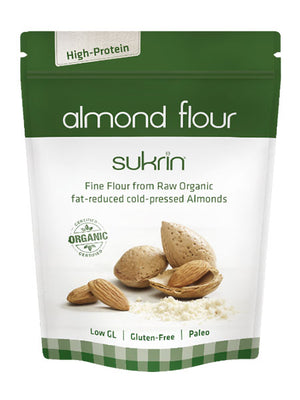 3 x Sukrin Fat Reduced Organic Cold Pressed Almond Flour