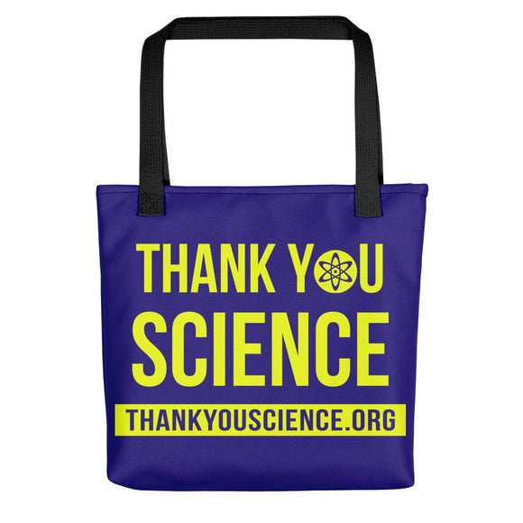 Thankyouscience.org Tote bag
