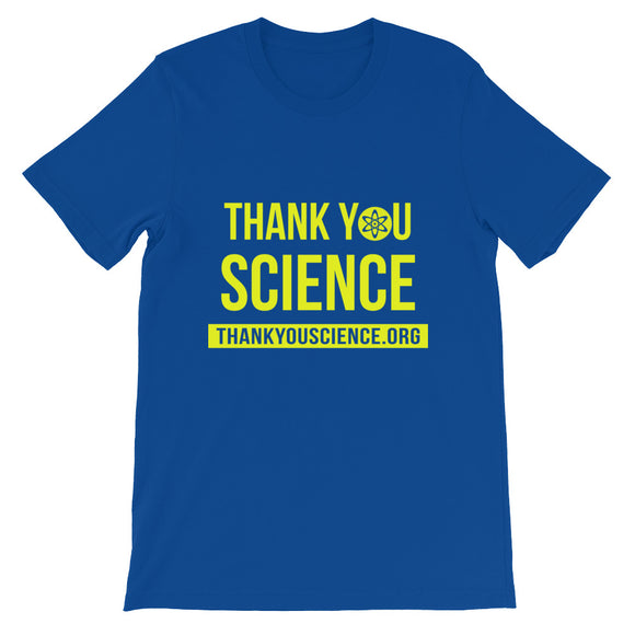 THANKYOUSCIENCE.ORG Short-Sleeve Unisex T-Shirt