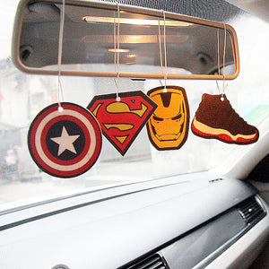 Superherors/cartoon car Air Fresheners