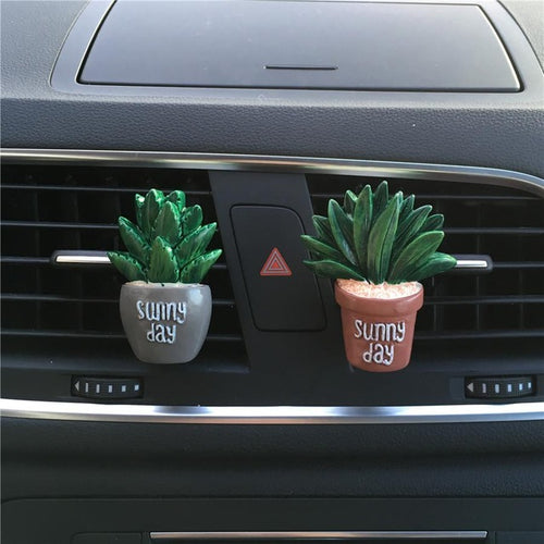 Decorative plants  car fragrance