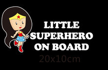 Superheroes Car Stickers