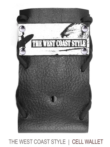 West Coast Style Cell & Accessory Wallet