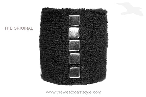 Studded Silver Plate Wristband