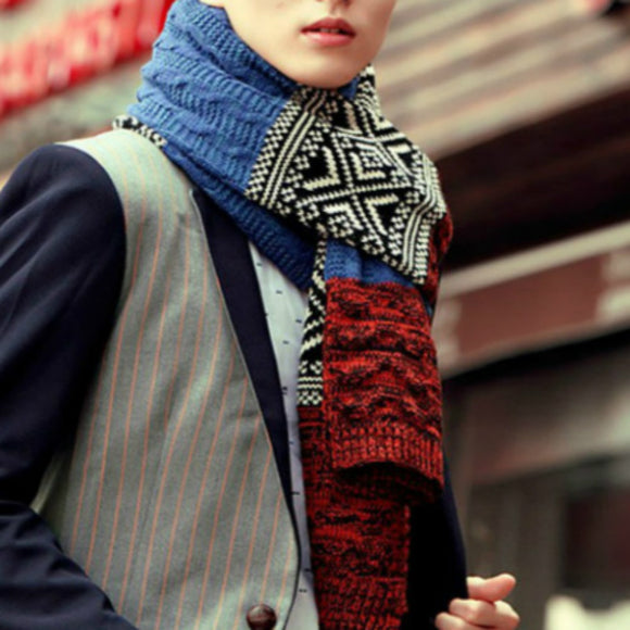 Scarves Men and Women Warm wool scarves