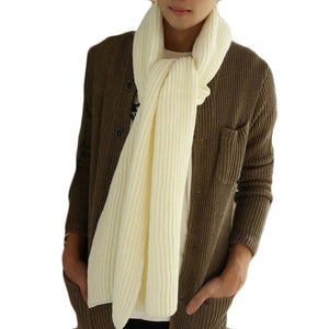 Men's Scarves Winter Warm Scarfs Lovers Long