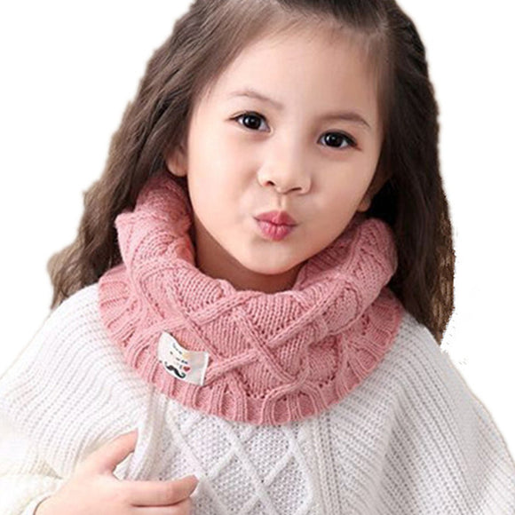 Winter Thick Warm LIC For Children Ring Scarves Girls