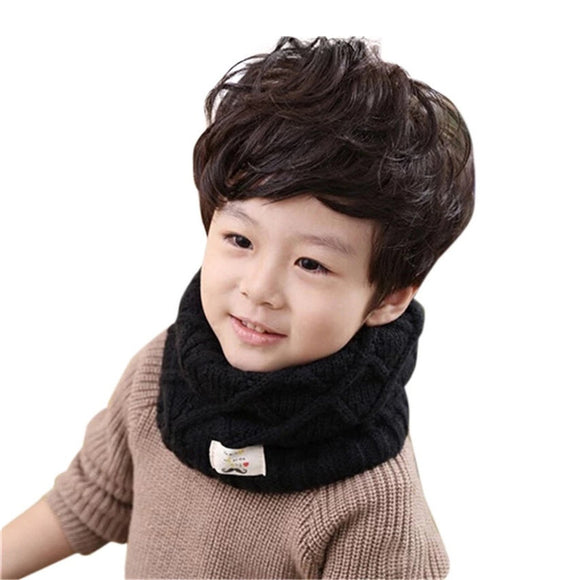 Winter Thick Warm O-Scarves LIC Children