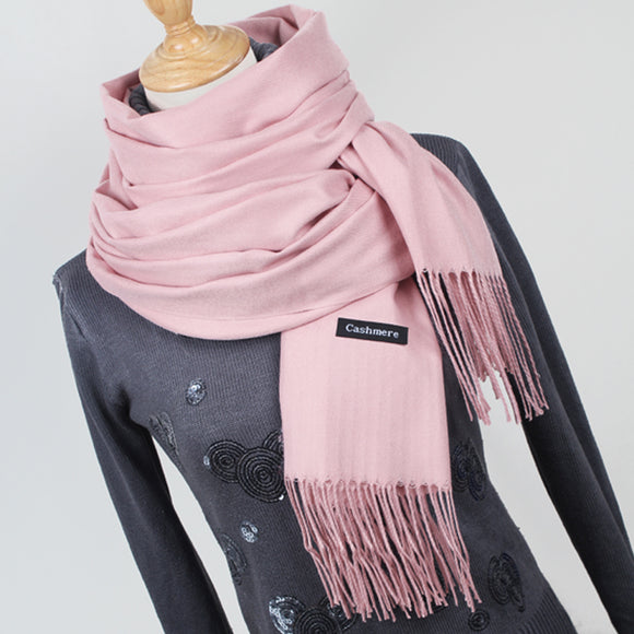 lady winter thick warm scarf high quality female shawl hot sale