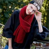 Thick Cashmere Scarf Luxury Brand Male and Female Scarves