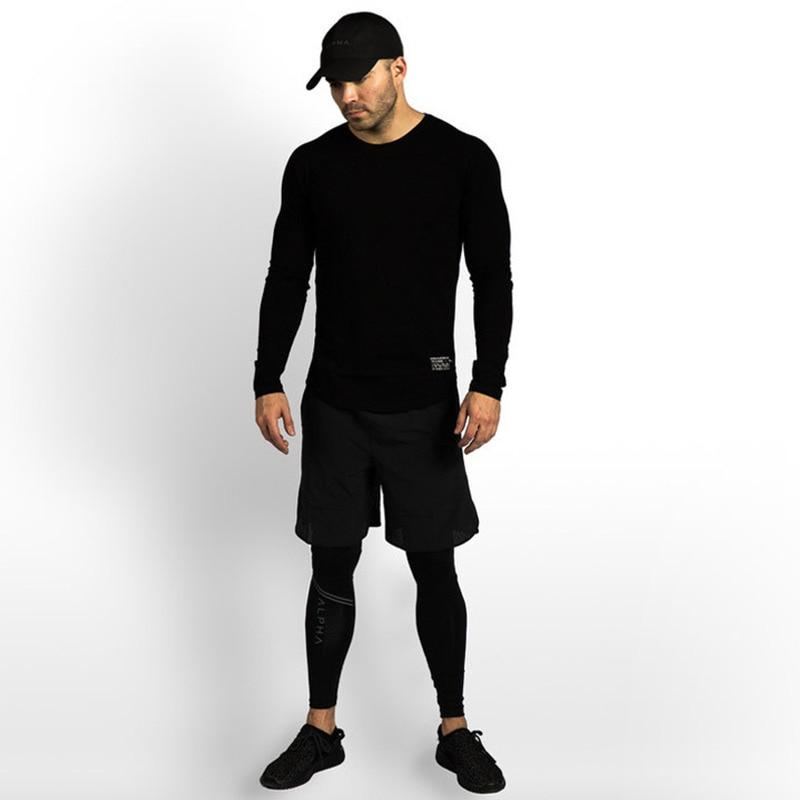 ALPHA BLACK LONG SLEEVE
