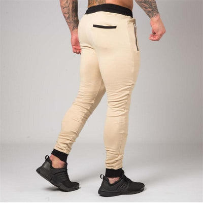 INITIATE KHAKI TAPERED BOTTOMS