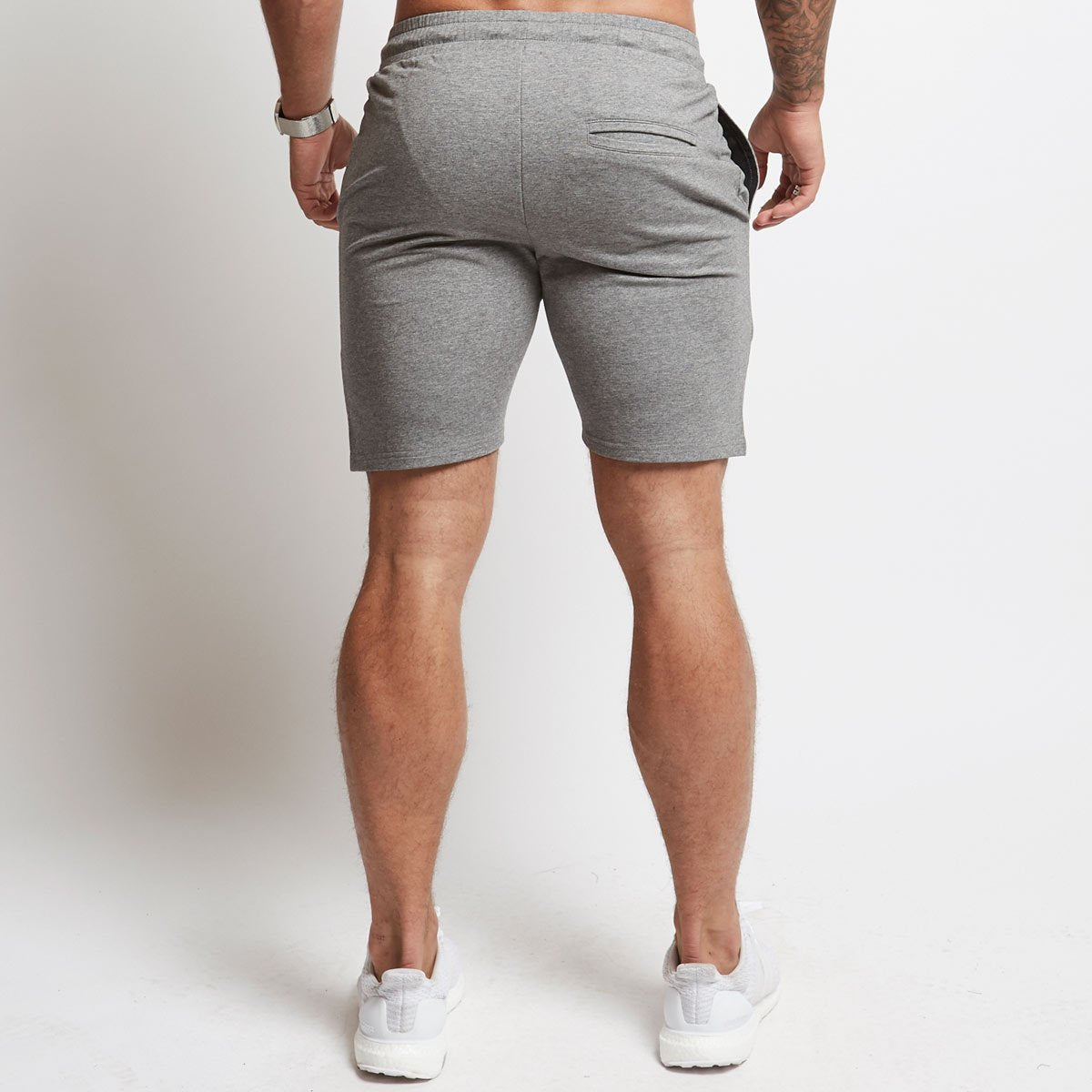 ASH GREY EXODUS SHORTS